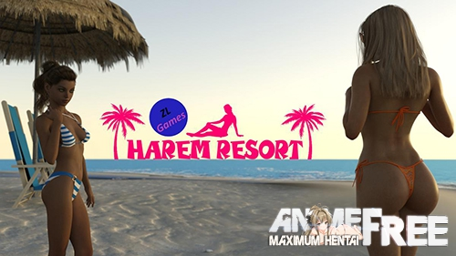Harem Resort / Гаремный курорт [2019] [Uncen] [ADV, 3DCG] [Android Compatible] [ENG,RUS] H-Game