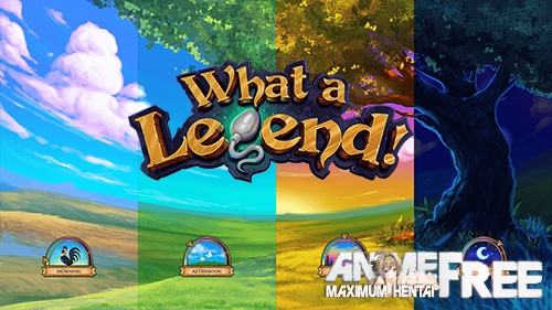 What a Legend! [2020] [Uncen] [ADV, Animation] [Android Compatible] [ENG,RUS] H-Game