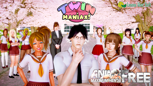 Twin Maniax! [2020] [Uncen] [ADV, 3DCG] [Android Compatible] [ENG] H-Game