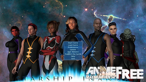 Starship Inanna / Космический корабль Инанна [2017-2019] [Uncen] [ADV, 3DCG] [Android Compatible] [ENG] H-Game