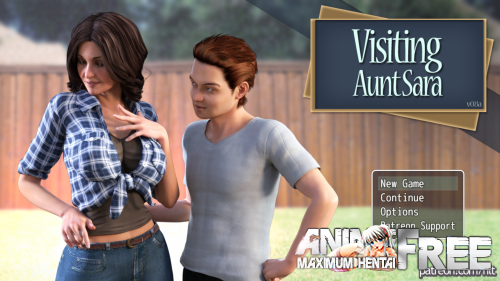 В Гостях У Тети Сары / Visiting Aunt Sara [2017] [Uncen] [3DCG, ADV] [Android Compatible] [ENG,RUS] H-Game