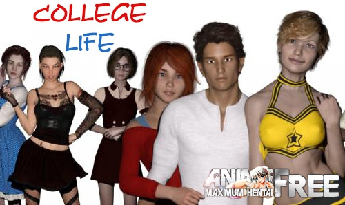 College Life [2017] [Uncen] [3DCG, ADV] [Android Compatible] [ENG,RUS] H-Game