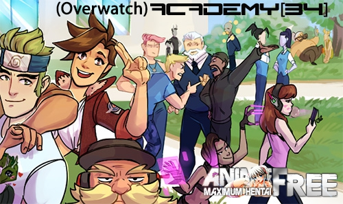 (Overwatch) ACADEMY34 [2018] [Uncen] [ADV, SLG, Date-Sim] [Android Compatible] [ENG,RUS] H-Game