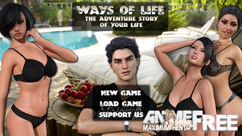 Ways of Life [2018] [Uncen] [ADV, 3DCG] [Android Compatible] [ENG,RUS,ITA] H-Game