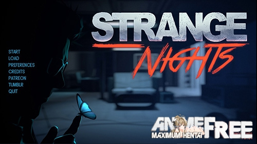 Strange Nights [2018] [Uncen] [ADV] [Android Compatible] [ENG,RUS] H-Game