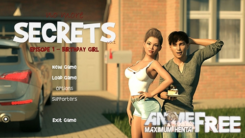 No More Secrets [2018] [Uncen] [ADV, 3DCG] [Android Compatible] [ENG,RUS] H-Game