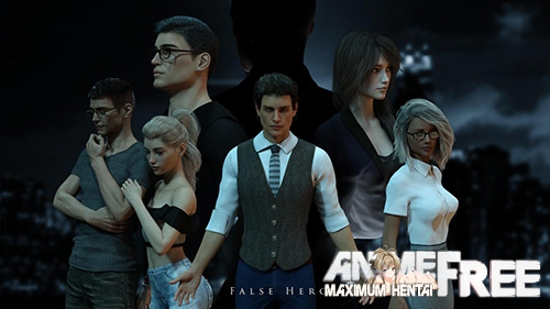 False Hero [2018] [Uncen] [ADV, 3DCG] [Android Compatible] [ENG] H-Game