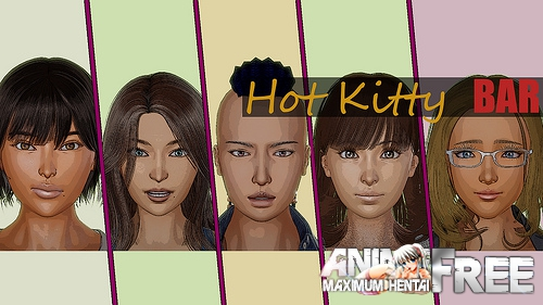 Hot Kitty Bar [2019] [Uncen] [ADV, 3DCG, Animation] [Android Compatible] [ENG] H-Game