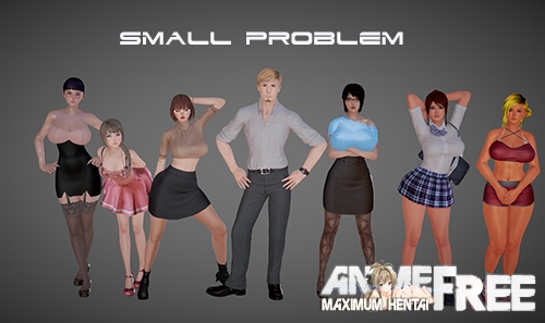 Small Problem [2019] [Uncen] [ADV, 3DCG] [Android Compatible] [ENG,RUS] H-Game