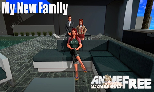 My New Family [2019] [Uncen] [ADV, 3DCG] [Android Compatible] [ENG,RUS] H-Game