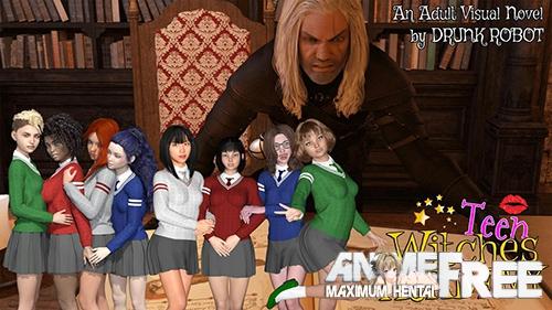 Teen Witches Academy [2019] [Uncen] [ADV, 3DCG] [Android Compatible] [ENG,RUS] H-Game