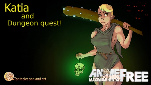 Katia and Dungeon quest! [2019-2020] [Uncen] [ADV, Animation] [Android Compatible] [ENG,RUS,UKR] H-Game