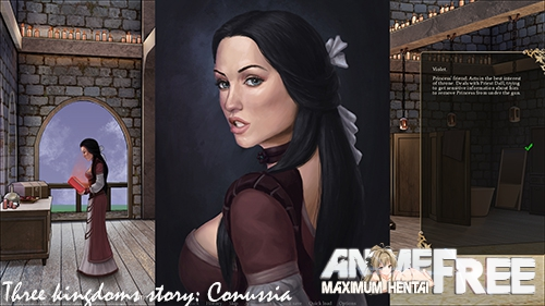 Three kingdoms story: Conussia [2020] [Uncen] [VN] [Android Compatible] [RUS] H-Game