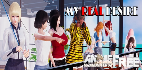 My Real Desire [2020] [Uncen] [ADV, 3DCG] [Android Compatible] [ENG,RUS] H-Game