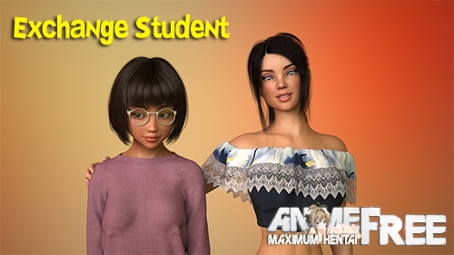 Exchange Student [2020] [Uncen] [ADV, 3DCG] [Android Compatible] [ENG,RUS] H-Game
