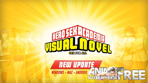 Hero Sex Academia [2020] [Uncen] [ADV, Animation] [Android Compatible] [ENG] H-Game