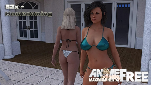 53x - Homecoming [2020] [Uncen] [ADV, 3DCG] [Android Compatible] [ENG,RUS] H-Game