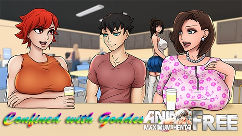 Confined with Goddesses [2020] [Uncen] [ADV, Animation] [Android Compatible] [ENG] H-Game