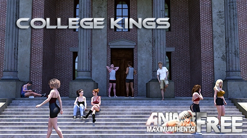 College kings [2020] [Uncen] [ADV, 3DCG, Animation] [Android Compatible] [ENG, RUS] H-Game