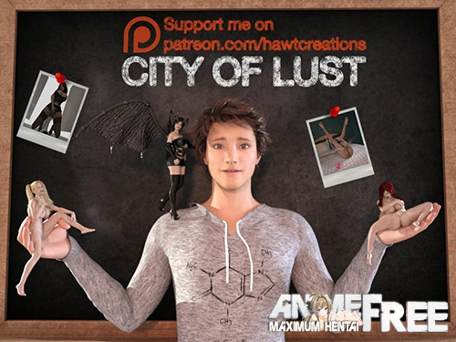 City Of Lust | PLAYBOY ADVENTURES [2017] [Uncen] [ADV, 3DCG] [ENG] H-Game