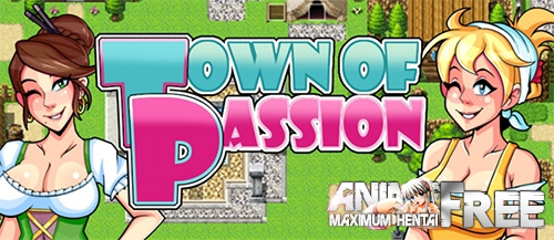 Town of Passion [2017] [Uncen] [RPG, Animation] [Android Compatible] [RUS,ENG] H-Game