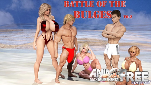 Battle of the Bulges [2017] [Uncen] [ADV, 3DCG] [Android Compatible] [ENG,RUS] H-Game