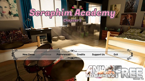 Seraphim Academy [2018] [Uncen] [ADV, 3DCG] [Android Compatible] [ENG,RUS] H-Game
