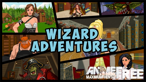 Wizard ' s Adventures / wizard's adventures [2018] [Uncen] [ADV, RPG] [Android Compatible] [ENG, RUS] H-Game