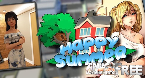 Happy Summer / Happy summer [2019] [Uncen] [ADV, 3DCG] [Android Compatible] [ENG, RUS] H-Game
