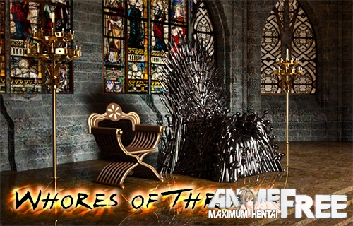 Whores of Thrones [2019] [Uncen] [ADV, 3DCG] [Android Compatible] [ENG,RUS] H-Game