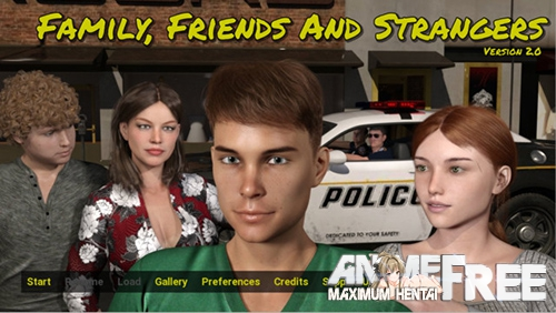 Family, Friends and Strangers [2019] [Uncen] [ADV, 3DCG] [Android Compatible] [ENG] H-Game